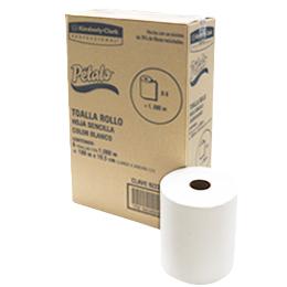 2 X 6 2PLY Blanco centrefeed Rollos//Toallas De Papel = 1800 metros